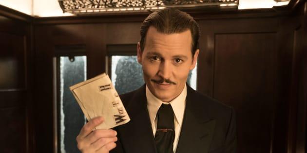 """Johnny Depp fait partie du prestigieux casting de ce remake du """"Crime de l'Orient-Express""""."""