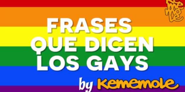 9 Frases Que Dicen Las Personas Homosexuales Huffpost Mexico