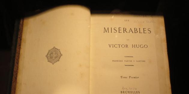 """""""Les Misérables"""" est dans sa liste."""