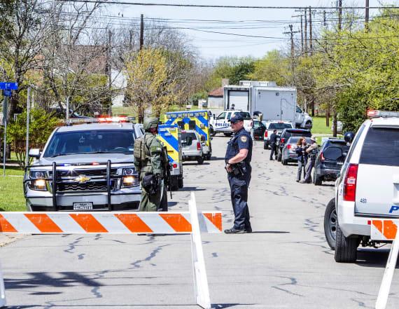 Investigators scour Texas bomber's home