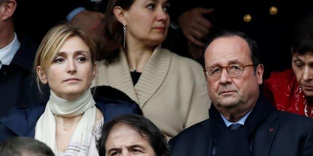 L'ancien président de la République François Hollande et sa compagne Julie Gayet.