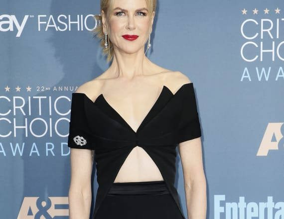 Best-dressed at the Critics Choice Awards was...