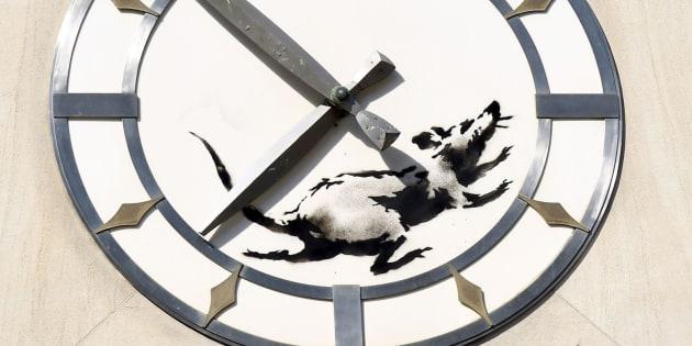 Banksy vuelve a la carga con su última obra en Nueva York