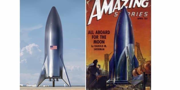 Elon Musk présente un nouveau design pour son futur vaisseau spatial