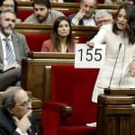 Tensión entre Torra y Arrimadas en el Parlament:
