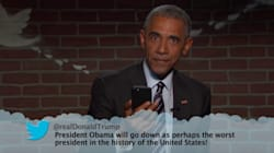 President Obama Absolutely Destroys Donald Trump In Priceless 'Mean Tweets'