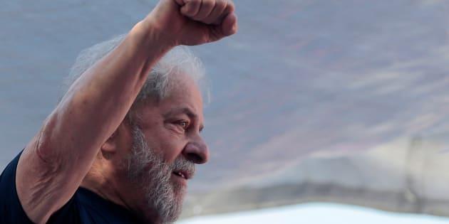 Lula está preso desde o dia 7 de abrilna Polícia Federal, em Curitiba.