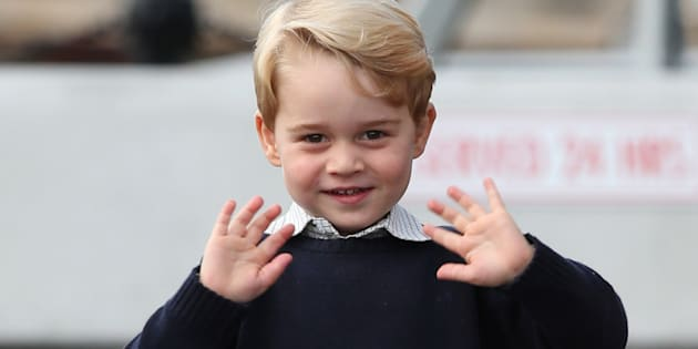 File photo dated 01/10/16 of Prince George who will pass a major milestone next week when he attends his first day at school, Kensington Palace has announced.