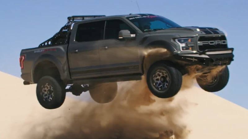 Ford Shelby Truck >> Watch A Shelby Raptor Tear Up Sand Dunes Autoblog