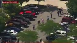 Les images de la fusillade qui a fait plusieurs morts dans un journal près de