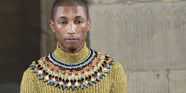 Pharrell Williams a défilé à New York pour Chanel