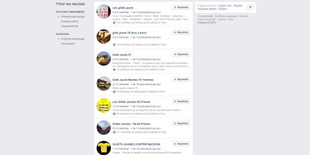 Le rôle de Facebook dans la mobilisation des gilets jaunes est important.