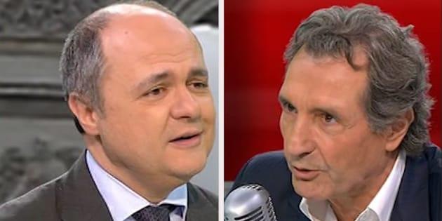 Jean-Jacques Bourdin règle encore ses comptes avec Bruno Le Roux, le nouveau ministre de l'Intérieur... qu'il refuse d'interviewer
