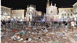 La folla di Torino era una rete