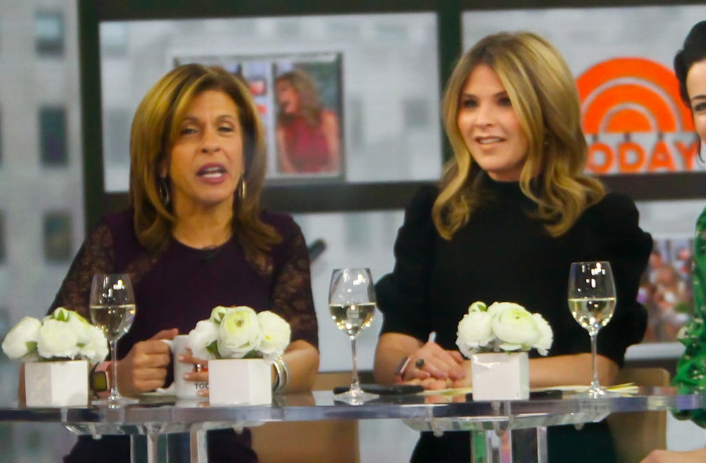fd54d0c926c8 It's been almost a week since Jenna Bush Hager made her Today show debut,  stepping into the big shoes of Kathie Lee Gifford, and Hoda Kotb says the  first ...