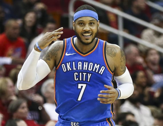 Report: Carmelo Anthony to sign with Houston Rockets