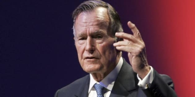 Imagen de archivo de Bush padre.