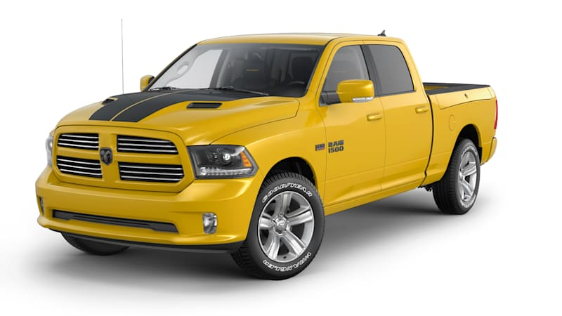 Ram 1500 Stinger Yellow is yellow, not quite a Rumble Bee - Autoblog