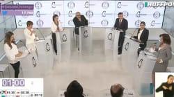 VIDEO: Las miradas, los retos y los señalamientos en el segundo