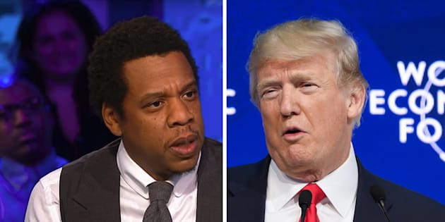 Trump n'a pas apprécié cette critique de Jay-Z sur son traitement de la communauté noire