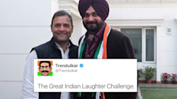 Twitter Has A Field Day As Navjot Singh Sidhu Starts A New Inning With