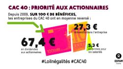 Ce rapport résume à quel point les entreprises françaises sont plus généreuses avec leurs actionnaires qu'avec leurs