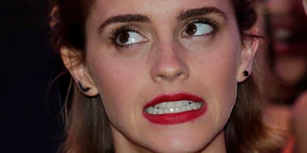 Emma Watson le 30 avril 2016.