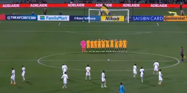 L'Arabie Saoudite s'excuse après le tollé provoqué par ses joueurs pendant une minute de silence en Australie
