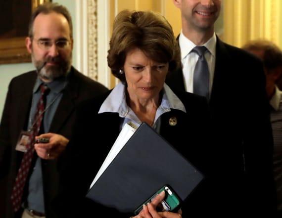 GOP tax plan got a big boost from a key senator