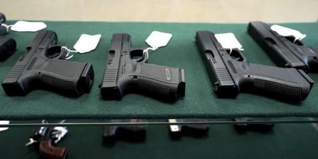 Imagen de archivo de una tienda de armas en Estados Unidos.