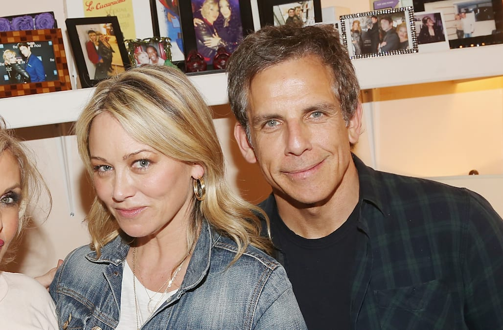 Ben Stiller and Christine Taylor spotted 'holding hands' 2 years