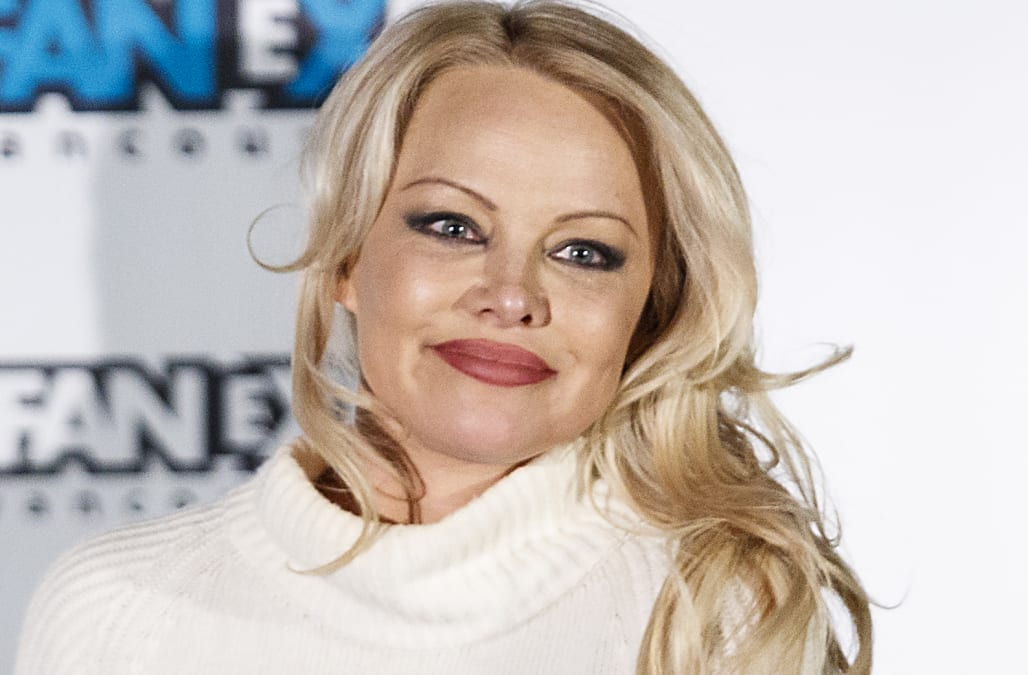 Pamela Anderson storms out of charity gala in France