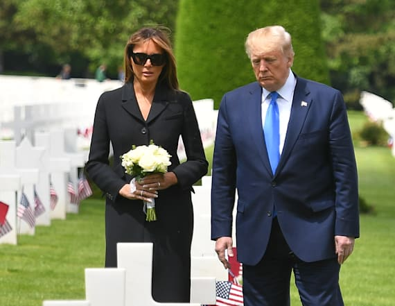 Why Melania is rarely seen without sunglasses