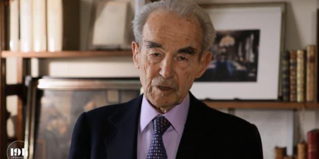 """""""Il a servi la cause de l'humanité toute entière"""": l'hommage de Badinter au colonel Beltrame"""