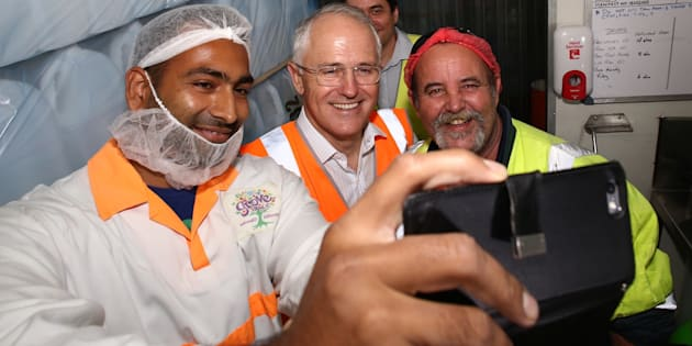 Expect a selfie-snapping Malcolm Turnbull in your marginal electorate shortly