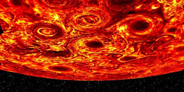 Les magnifiques images de Jupiter prises par Juno enfin décryptées