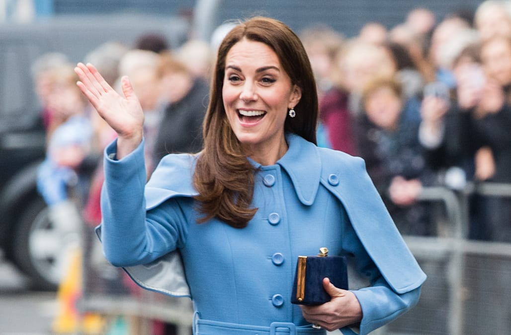 685d8bd3883d5 Kate Middleton braids a fan's hair during beauty tutorial in Northern  Ireland: Watch