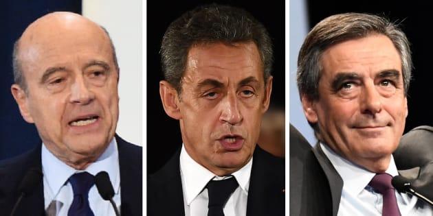 Pour le dernier jour de campagne du premier tour de la primaire, Nicolas Sarkozy était à Nîmes, Alain Juppé à Lille, François Fillon à Paris.