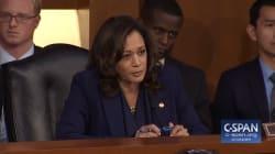 Face au candidat de Trump à la Cour suprême, cette sénatrice démocrate pose 15 fois la même question sans avoir de