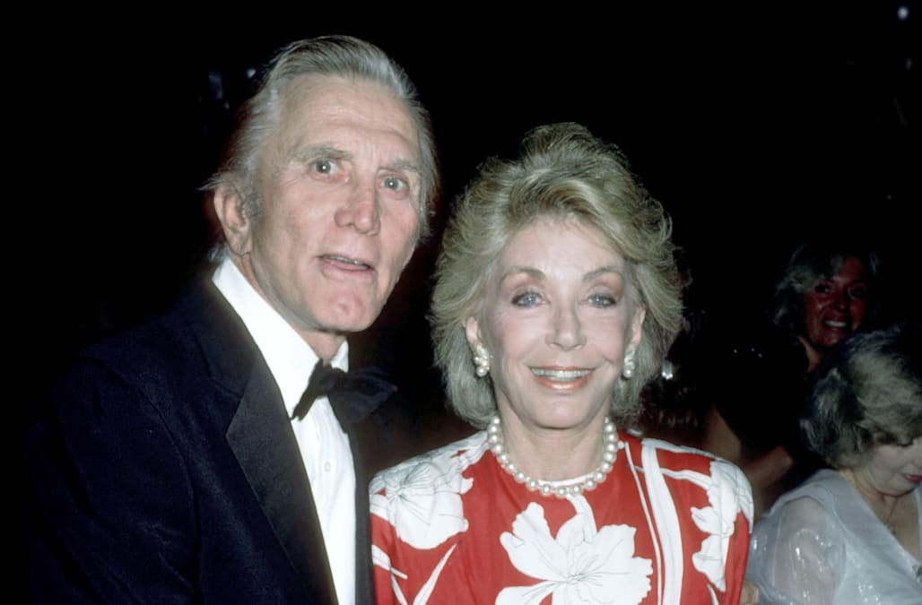 Hollywood legend Kirk Douglas' infidelity revealed in new book - AOL