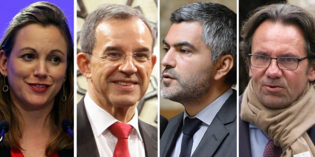 Axelle Lemaire, Thierry Mariani, Sergio Coronado et Frédéric Lefebvre sont candidats aux législatives dans les circonscription des Français de l'étranger.
