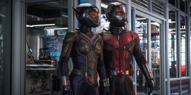 """""""Ant-Man et la Guêpe"""", le deuxième volet des aventures du super-héros à taille variable des studios Marvel, marque les débuts sur grand écran de sa partenaire la Guêpe."""