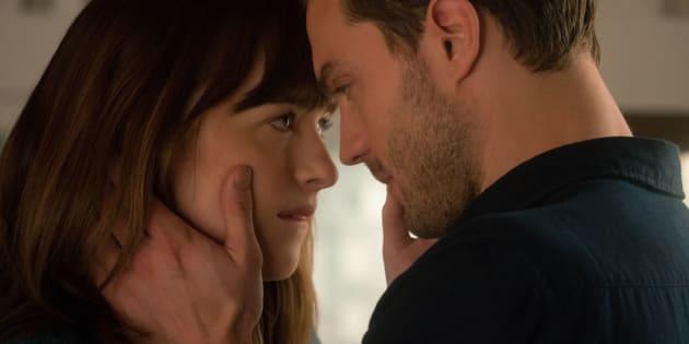 Dans le livre déjà Anastasia et Christian Grey