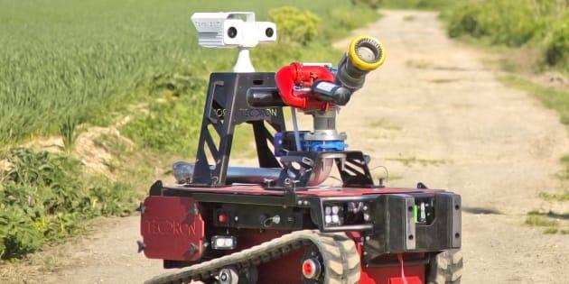Sentinel, le robot choisi par les pompiers de Paris pour sécuriser le Grand Paris