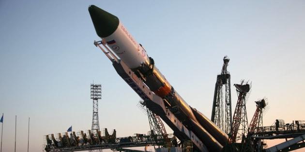 Le vaisseau spatial Progress MS-04 a décollé à bord d'un lanceur Soyouz.