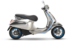 ベスパ初の電動スクーター、10月より欧州で販売開始