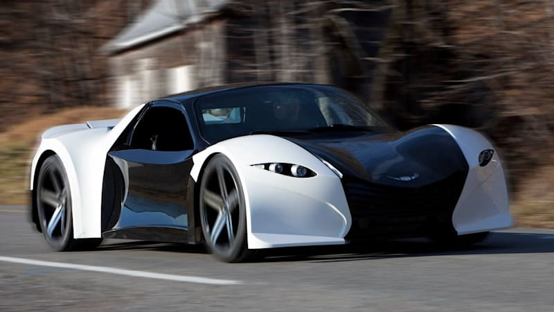 Last We Heard From Dubuc Motors It Was Trying To Raise Capital Through A Crowdfunding Campaign For Its Wildly Out There Tomahawk Electric Supercar