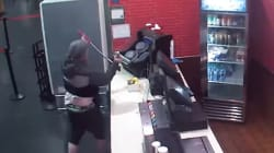 Video: Thief Uses Full-Size Bolt Cutters To Snatch Donation