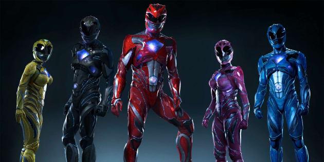"""Le film """"Power Rangers"""" sort ce mercredi 5 avril au cinéma."""