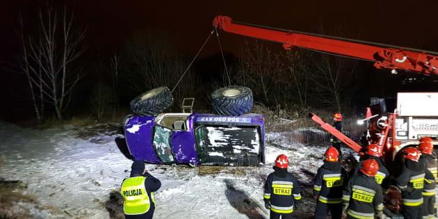 En testant une activité, les fondateurs de Crazy EVG ont terminé sous un monster truck, dans un champ enneigé en Pologne.